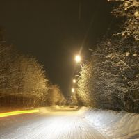 Оn a winter night, Апатиты