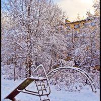 Зима пришла . ., Апатиты