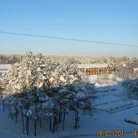 Взгляд из окна, Верхнетуломский