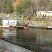 Отводящий канал Верхнетуломской ГЭС, Верхнетуломский