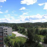 Вид с кровли. 2010 г., Зеленоборский