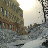 Кировск зимой 2, Кировск
