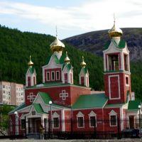 church in kirovsk, Кировск
