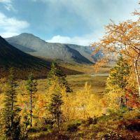 Осень, Кировск