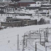 Заброшеный вокзал, Кировск