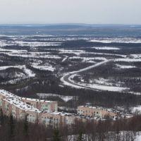 дорога на Апатиты, Кировск