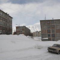 городская застройка, Кировск