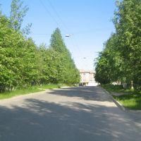 Вид на площадь, Ковдор