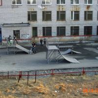 Площадка у 3 школы, Ковдор