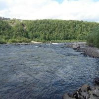 Lower pool, Kola river, molochnya, Кола