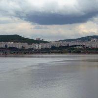 Вид из Колы на ул. Достоевского, Кола