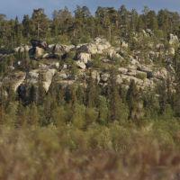 Летучий Камень с устья М. Лосинги, Конда