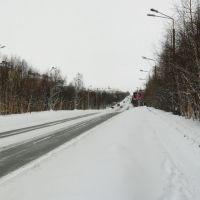 зима, Мончегорск
