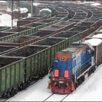 Coal trains, Мурманск