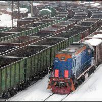 Coal trains, Мурманск
