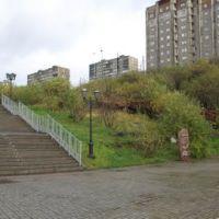 Панорама Мурманска. Спас на водах - Panorama of Murmansk., Мурманск