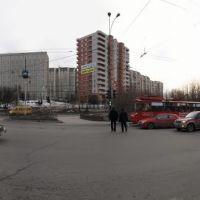 Панорама Мурманска. Проспект Ленина - Panorama of Murmansk. Lenin Avenue, Мурманск