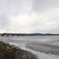 Панорама Мурманска. Семеновсое озеро - Panorama of Murmansk. Semenov lake, Мурманск