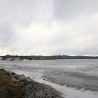 Панорама Мурманска. Семеновсое озеро - Panorama of Murmansk. Semenov lake, Мурманск