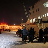 Рейс на Гремиху., Мурманск