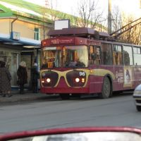 Близорукий троллейбус, Мурманск