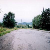 Улица Мира в 2003 году., Мурмаши