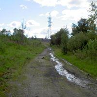 Ручей на ул. Торговой. 2005 год., Мурмаши
