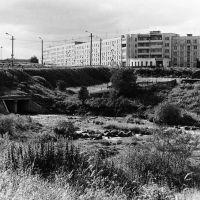 Вид на Большой Кротов ручей от бывшего дома 6 по ул. Торговой., Мурмаши