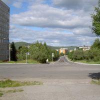 Поселок Мурмаши. Улица Советская, Мурмаши