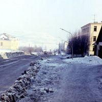 Улица Советская в 1974 году., Мурмаши