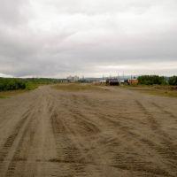 На старом аэродроме в Мурмашах. 2005 год., Мурмаши