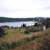 Вид на поселок с плотины. 2002 год., Мурмаши