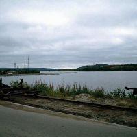 На плотине у водосброса. 2002 год., Мурмаши