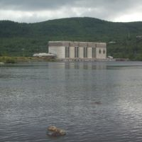 Hydroelectric power plant near Murmashi, Мурмаши