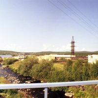2002 год. Мурмаши. Устье Большого Кротова ручья. Фото А.И. Стец, Мурмаши