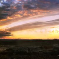 Закат над посёлком, Никель
