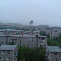 с крыши дома, Оленегорск