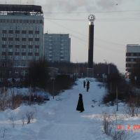 Зима 2006 год, Оленегорск