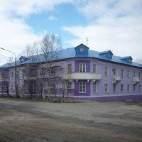 Дом на углу ул. Мира и проспекта Ветеранов., Оленегорск
