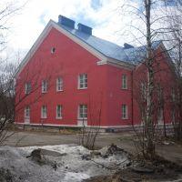 Отреставрированный дом на ул. Строительной-36., Оленегорск