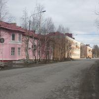 На улице Мира., Оленегорск