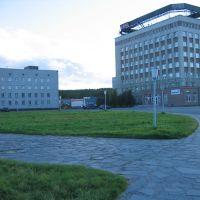 На площади, Оленегорск