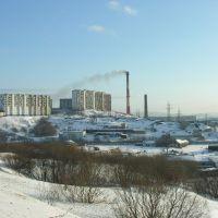 View to Krasny Gorn district, Полярный