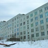 Apartment building, Полярный