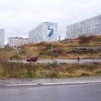 с улицы Гагарина на ул. Красный Горн, Полярный