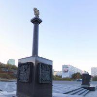 Панорама Полярного. Полярный - город воинской славы, Полярный