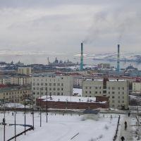 Нижняя часть города, Североморск