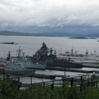 Кольский залив., Североморск