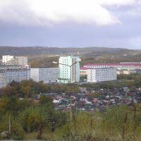 Вид на город..., Североморск