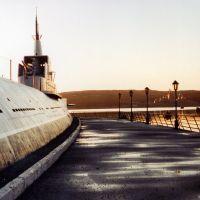 """Подводная лодка К-21 на вечном приколе. Повредила""""Тирпиц""""(The submarine K-21 damaged the """"Tirpitz""""), Североморск"""